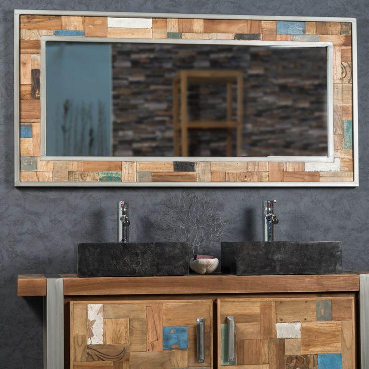 1000 id es sur le th me grands miroirs de salle de bains for Impression en miroir