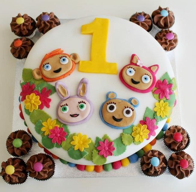 Nom Nom Cupcakery, Nailsworth - Waybuloo Cbeebies Birthday Cake