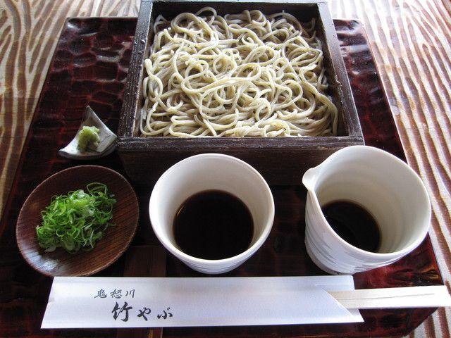 Kinugawa Takeyabu ( 鬼怒川 竹やぶ ) -せいろそば ¥750