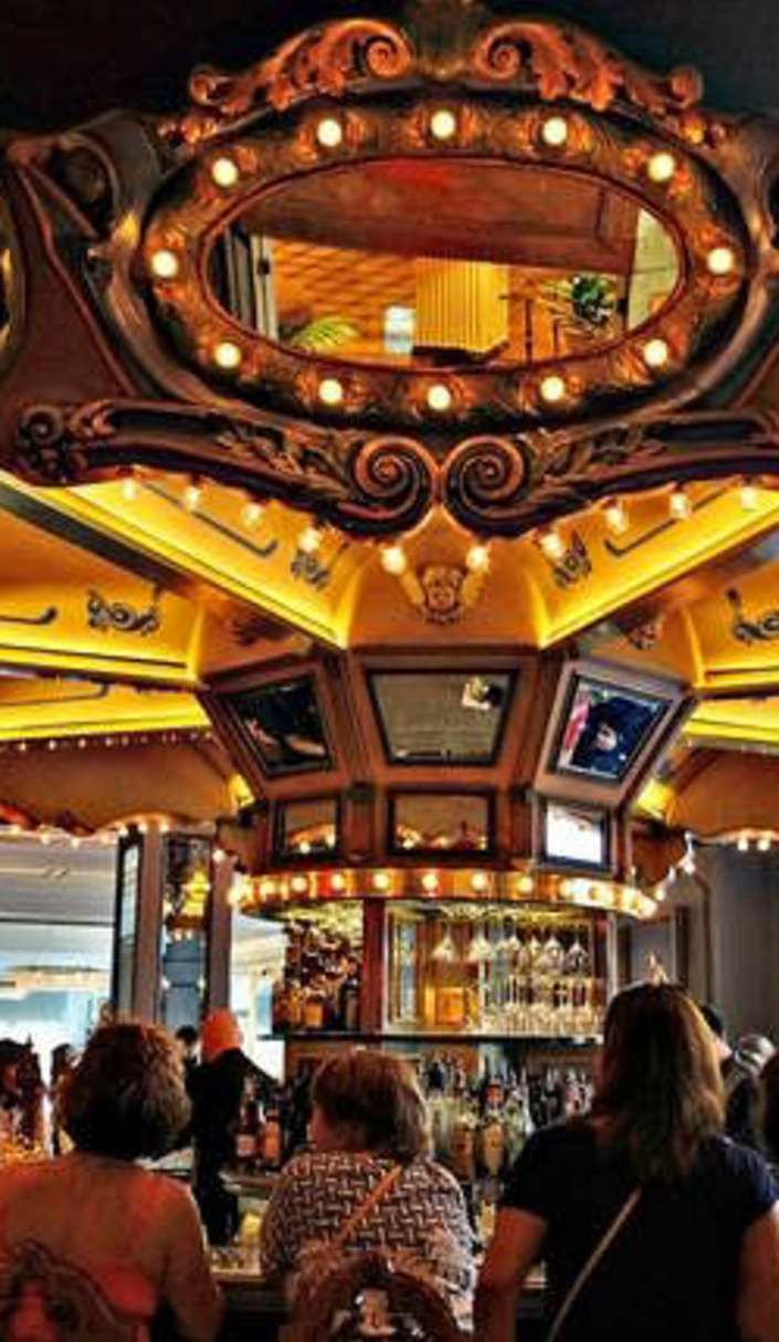 This rotating new orleans carousel bar has inspired dozens of writers