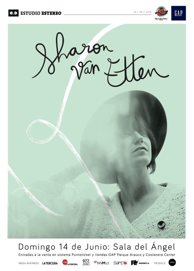 Sharon Van Etten - 14 de junio - Sala del Angel