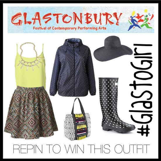 REPIN this pin & FOLLOW @Jackie Gregory Be for a chance to WIN this Glasto inspired outfit! Don't forget to REPIN the competition pin too: http://www.pinterest.com/pin/126100858291441924/ Full terms: https://a.pgtb.me/lZ9G7X