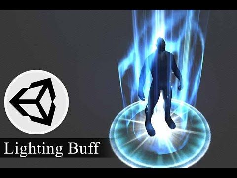 Effect Animation - Lighting Buff Effect - Unity 3D Tutorial - Part2