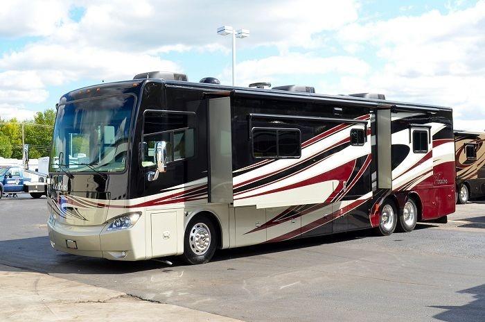 2013 Tiffin Motor Homes Phaeton 42LH Class A Motorhome: 800-628-4889