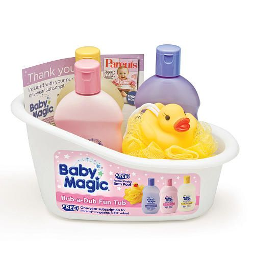 "Baby Magic Rub A Dub Fun Tub - Naterra - Babies ""R"" Us"