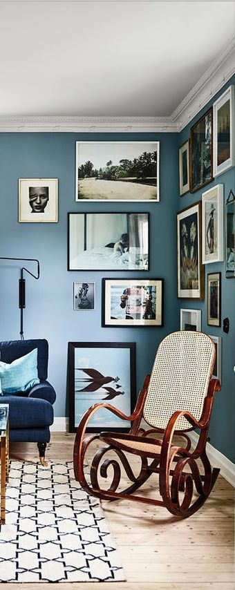 A Corner Filled With Portraits, Vacation Photos And Landscapes Creates A  Compelling Scene, And Yet Doesnu0027t Take Away From Any Additional Decor Items  In The ...