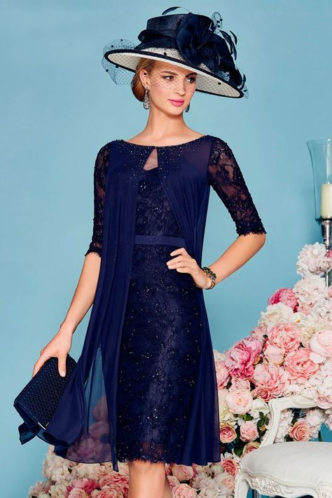 Gorgeous outfit - Mother of the bride look by Ronald Joyce 991115 01