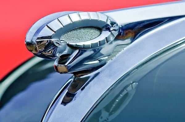 Dodge Images by Jill Reger - Images of Dodge -  1950 Dodge Coronet Hood Ornament