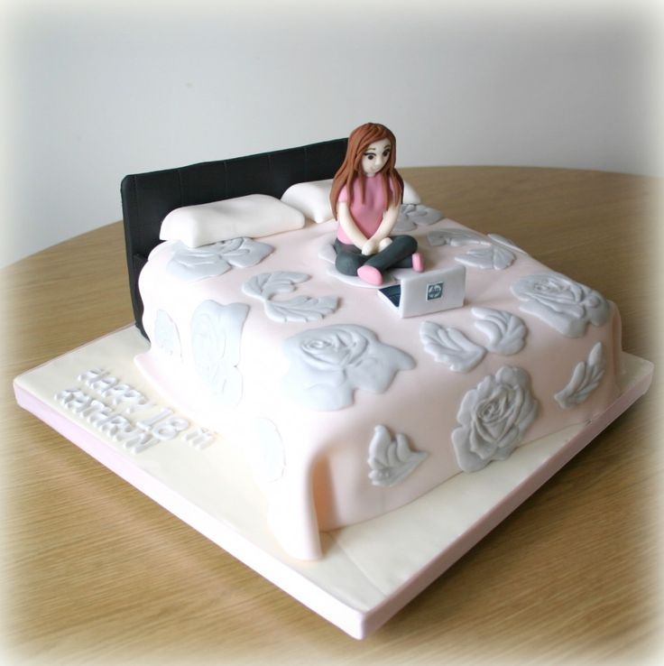 1000+ Ideas About Bed Cake On Pinterest