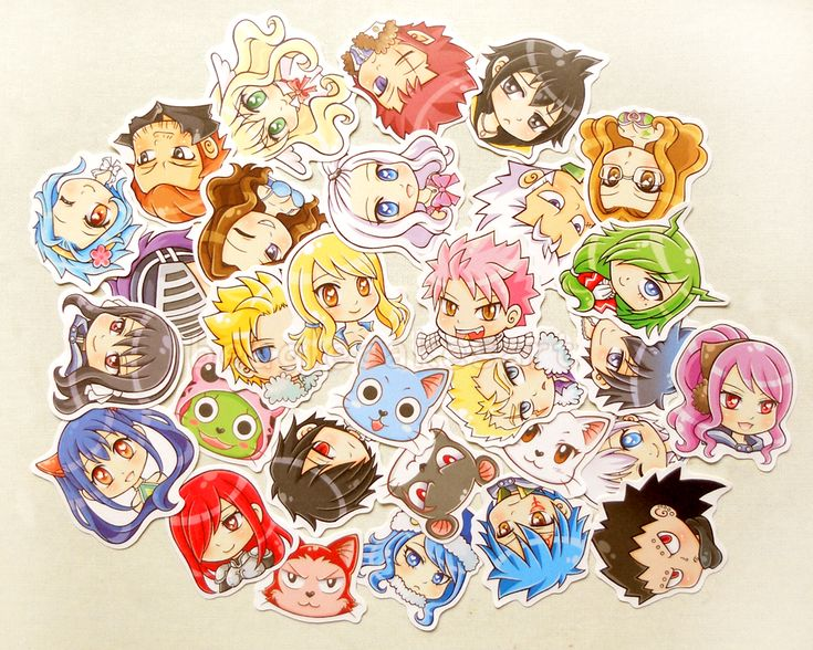 Fairy Tail Sticker. Anime Stickers. Kawaii Sticker. Laptop Sticker. Waterproof Sticker. Scrapbooking Supply. Party Favors. Geekery Gifts. · BeagleCakesArt · Online Store Powered by Storenvy