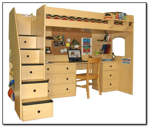 1000 images about bunks on pinterest chair bed girl for Queen bunk bed with desk