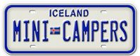 Iceland Mini Campers Photo Gallery