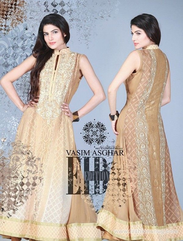 Vasim Asgher Eid-Ul-Fitr Dresses 2014 With Price