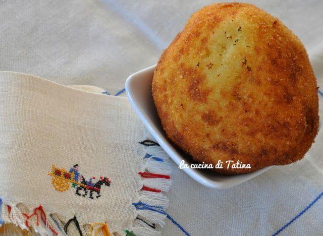 La cucina di Tatina: Arancine di patate