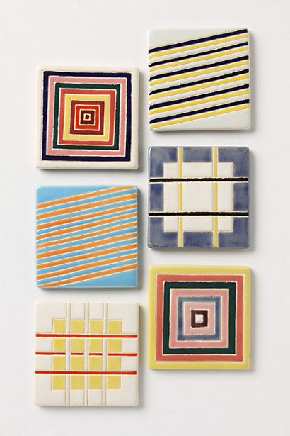 LOVE coasters!! - Salorosa Coaster - Anthropologie.com