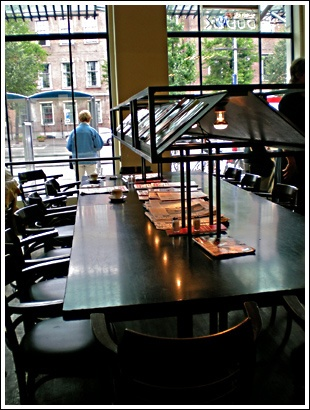 Reading Table at Dudok