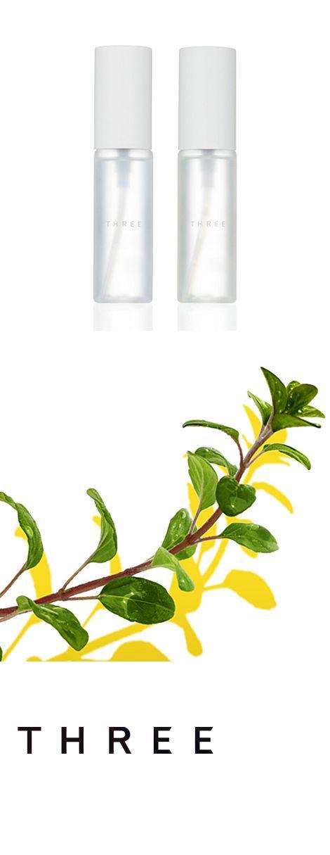 THREE(スリー) 自然の恵みを凝縮したオーガニック認定精油や様々な植物油、こだわりの国産原料を配合し、ラインナップ平均天然由来率85%を実現したTHREEのスキンケア。自然の恵みの力を、やさしさから肌への確信へと昇華させたのは知性と無限の想像力、情熱と科学の力。精油が織り成す豊かな香り、洗練のテクスチャーで肌への実感を追求し、自然のやさしさはそのままに、力強くあなたの肌に確信をもたらします。