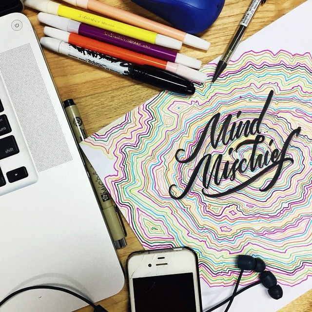 lettering // tame impala, mind mischief. #tameimpala #lettering #fanart