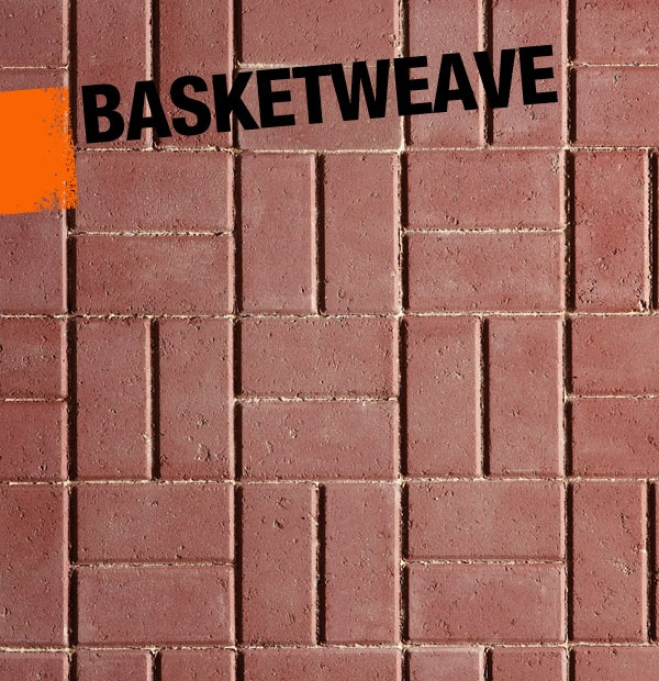 If Youu0027re DIYing A Brick Patio, Consider Laying The Bricks In A Basketweave