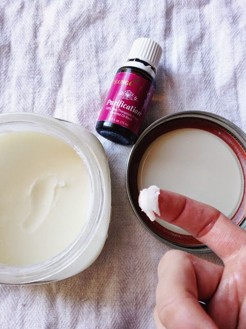 DIY deodorant on Barefoot In Blue Jeans: Young Living Purification Uses & Benefits
