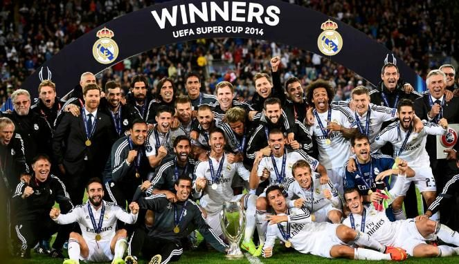 Real Madrid Juara Piala Super Eropa 2016 Setelah Mengalahkan Sevilla