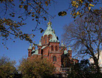 Uspenskin katedraali. Kuva: Helsingin kaupungin materiaalipankki