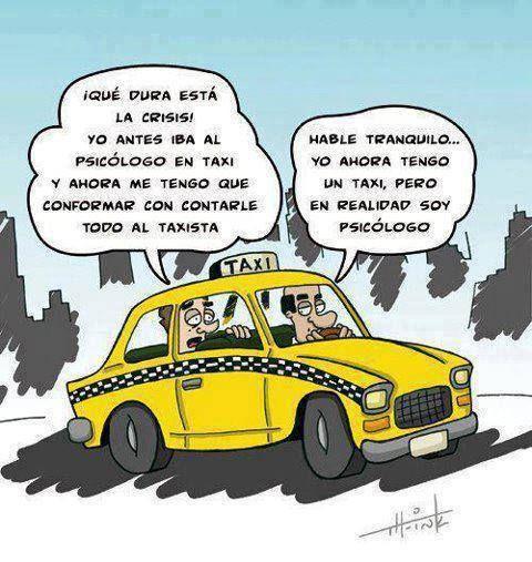 Qué dura está la #crisis... #Humor - #Psicología