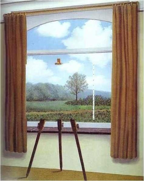 인간의 조건  René Magritte 마그리트의 유머감각은 대단하다.  이런 천재적인 작품이 어떻게 그 시대에 나왔는지 궁금하다.