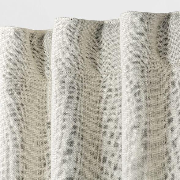 108 x50 aruba linen blackout curtain