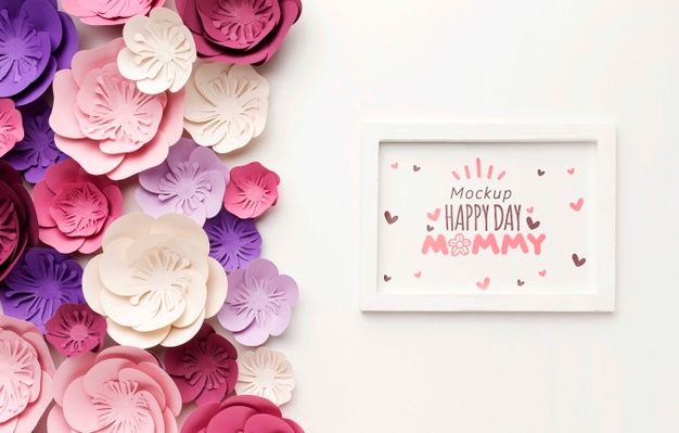 Top View Mothers Day Concept Free Psd Freepik Freepsd Frame Mockup Flower Love In 2021 Happy Mother S Day Card Mother S Day Banner Mother S Day Greeting Cards