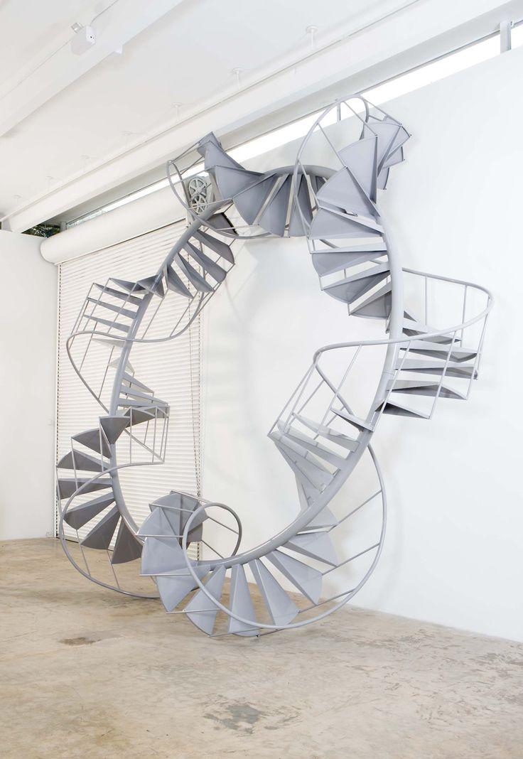 Infinite Staircase by Chris Burden