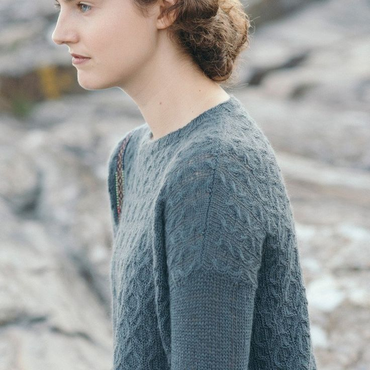 watershed knitting pattern - Quince and Co
