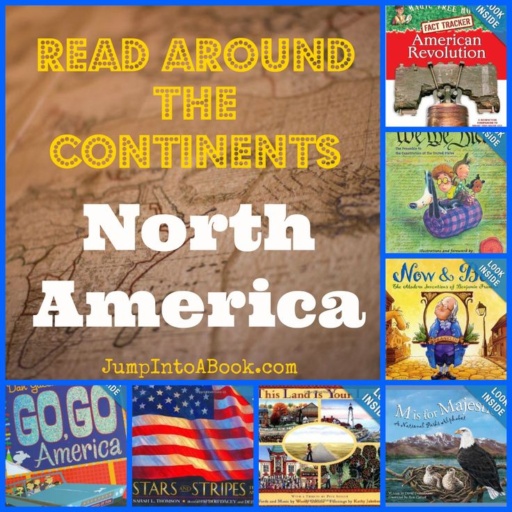 Read Around the Continents/North America-USA booklist #kidlit