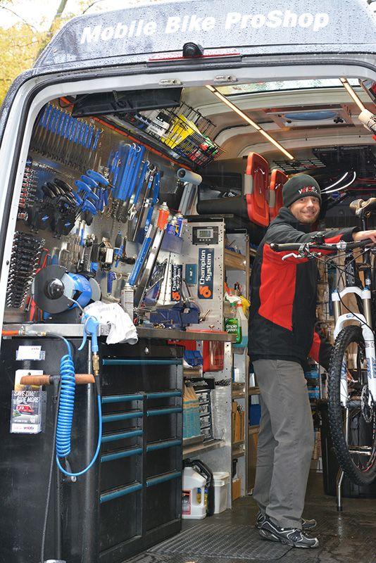 Velofix Van Vehicle Bike repair, Mobile Bike