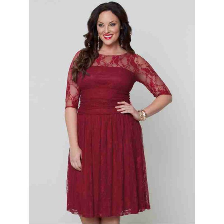 Luna Lace Dress (Red) $69.60 http://www.curvyclothing.com.au/index.php?route=product/product&path=59_61&product_id=780