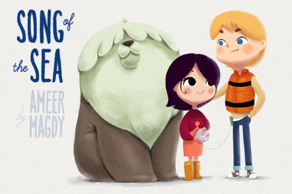 Song of the Sea time-lapse by Ameer Magdy VisDev @creativework247