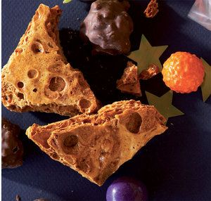 Space party food | Party food | YourParenting: meteorite honey comb