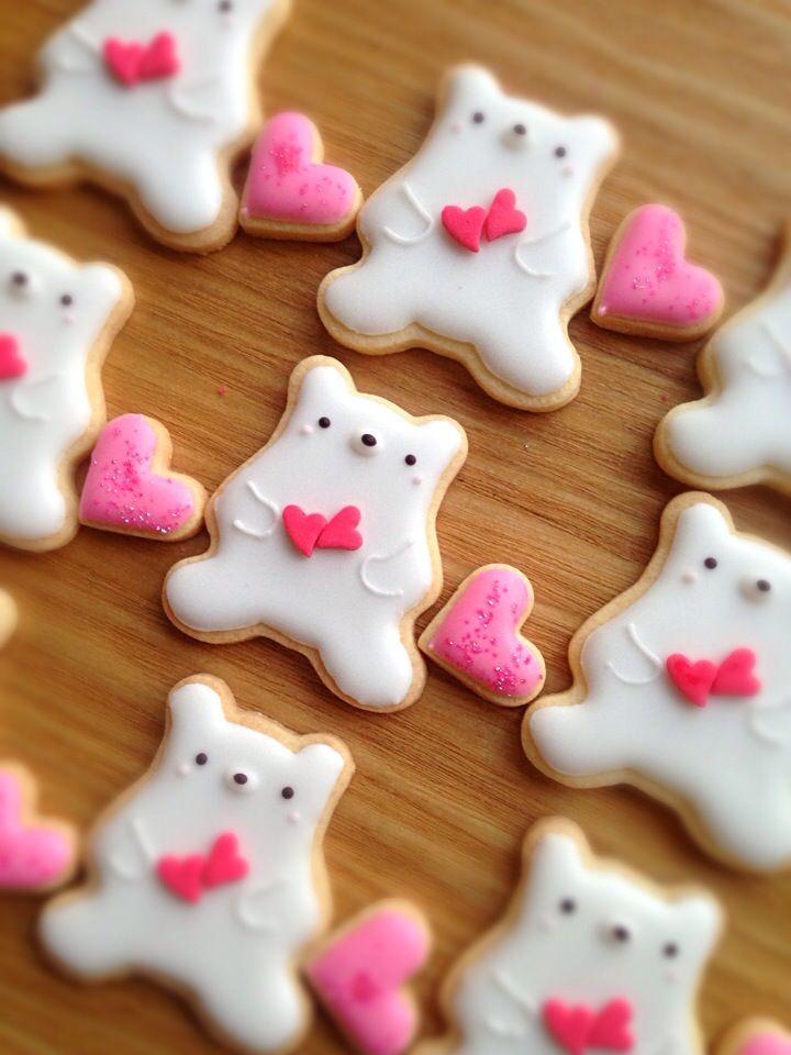 くま♡アイシングクッキー