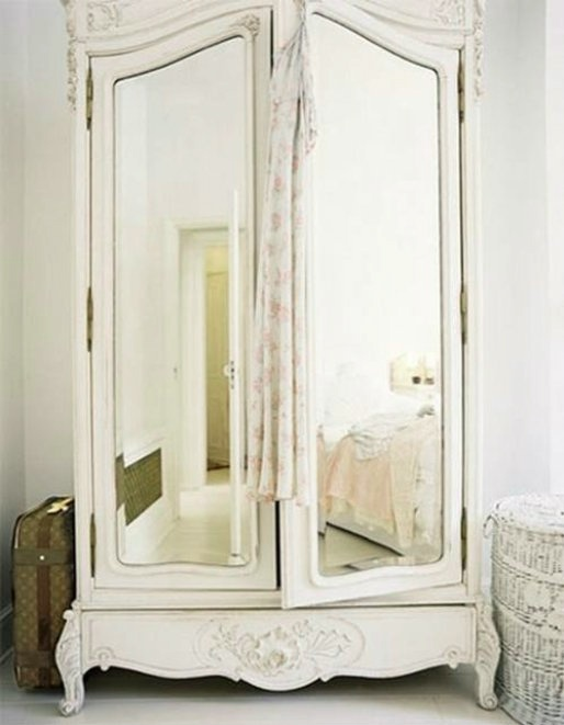 Closet Space: An Armoire Would Take Up Too Much Space In My Tight Walk In  Closet. I Think Elements Could Be Build To Make The Space Appear As If  There Are ...