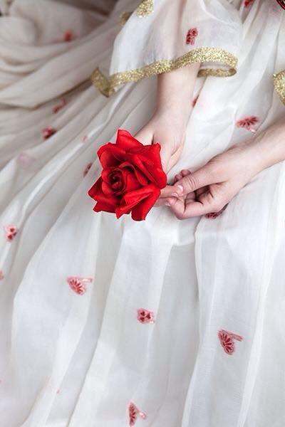 I Love Red Rose  Red Roses, Girls Status, Dresses-6632