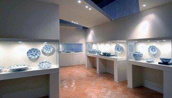 Colecção de porcelana Azul e Branca da China