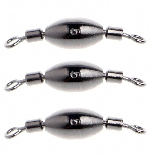 10 Pcs Fishing Weight Rotation Fish Tackle Lead Sinker Kit Tackle Sinkers Tools