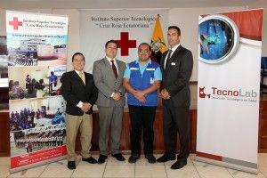 Bactiguard y Tecnolab realizan la donación de dispositivos médicos con nanotecnología a la Cruz Roja Ecuatoriana