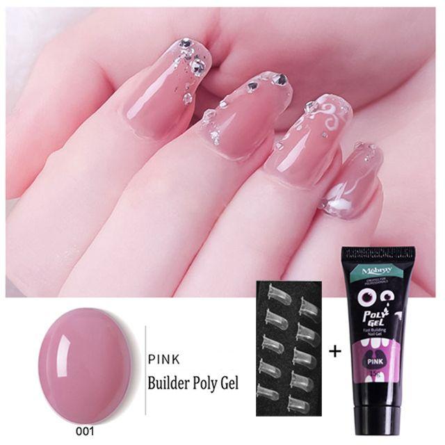 60 Off Martha Poly Nail Gel Kit In 2020 Nail Extensions Gel Nail Extensions Gel Nails
