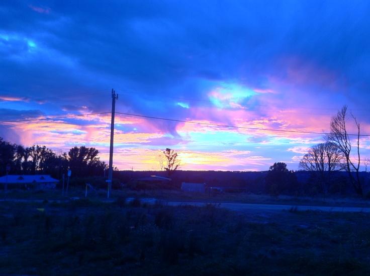 Sunrise at Pheasant Creek Victoria Australia.
