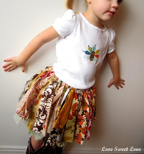 Instructions on how to make a Scrap Rag Tutu.  My granddaughter is going to want one for sure.
