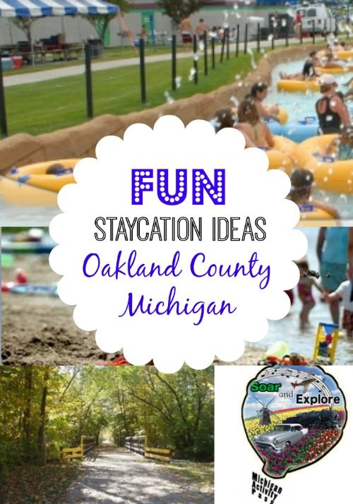 Fun Michigan Staycation Ideas - Oakland County Mi - Metro Detroit