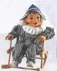 Andy Pandy from 'watch with mother'. Used to love this with Looby Loo & Ted. Also liked Bill & Ben, the flowerpot men & the woodentops!..mar16