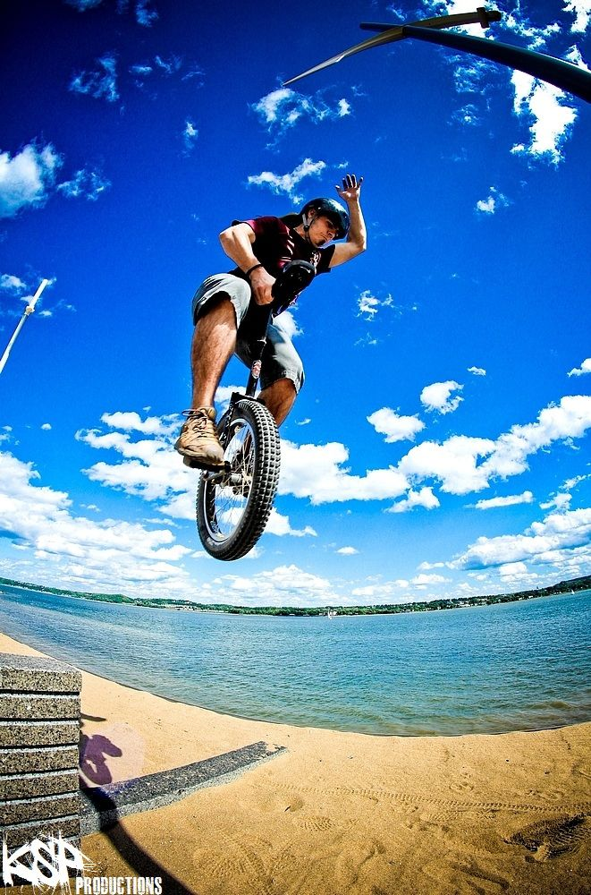 One day, I will unicycle as good as this