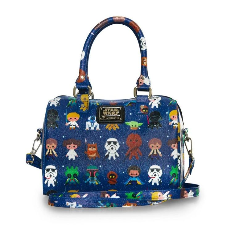 Loungefly x Star Wars character print duffle bag